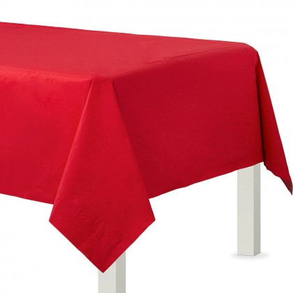 Table Cover 3 ply Apple Red