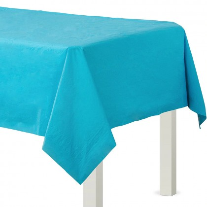 Table Cover 3 ply Caribbean Blue