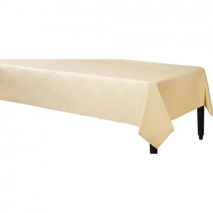 Table Cover 3 ply Vanilla Creme