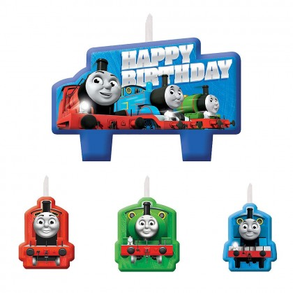Thomas All Aboard Birthday Candle Set
