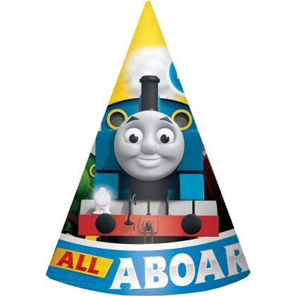 Thomas All Aboard Cone Hats Paper