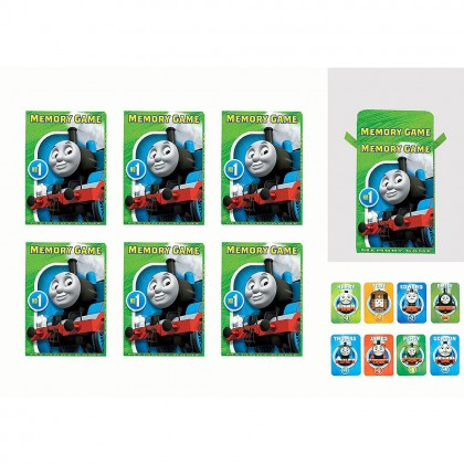 Thomas All Aboard Memory Game Favors