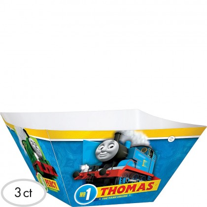 Thomas All Aboard Square Bowls  Paper