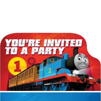 Thomas All Aboard Postcard Invitations