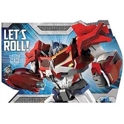 Transformers™ Core Postcard Invitations