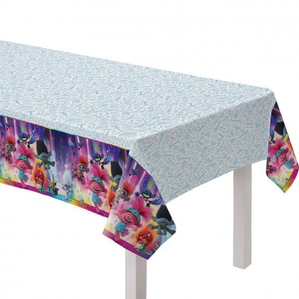 ©Trolls World Tour Plastic Table Cover
