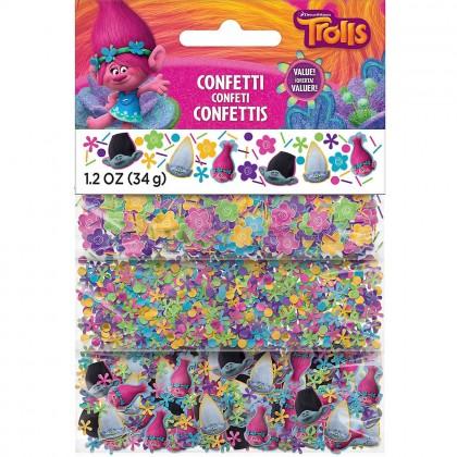 Trolls Value Pack Confetti - Foil & Paper