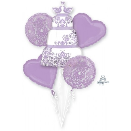 P75 Lilac Wedding Bouquet