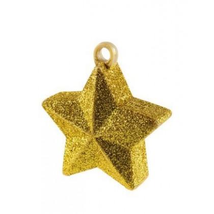 Gold Gliter Star Weight