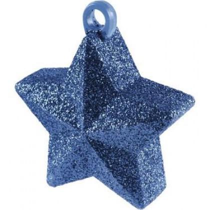 Blue Glitter Star Weight