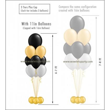 Balloon Tree 4-Tier (10 Latex)