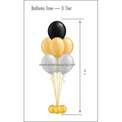 Balloon Tree 3-Tier (7 Latex)