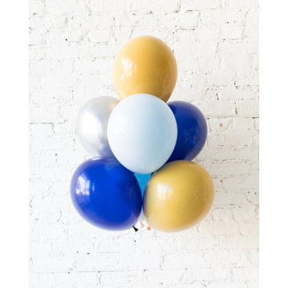DisneyWorld - Orbs and 11in Balloons - bouquet of 10