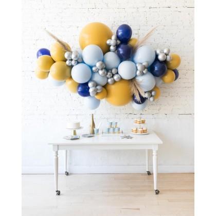 DisneyWorld - Backdrop Balloon Garland Install Piece with Pampas Grass