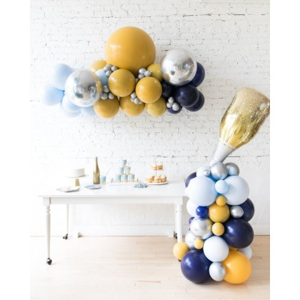 DisneyWorld - Floating Balloon Arch & Champagne Column Set