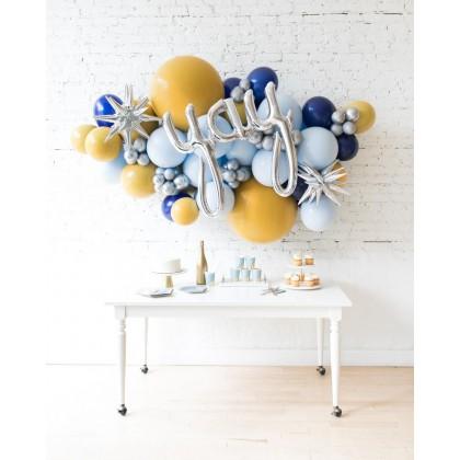 DisneyWorld - Yay Script Backdrop Balloon Garland Install Piece - 6ft