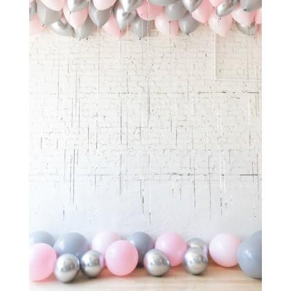 Fuschia Flush - Ceiling and Floor Balloon Set