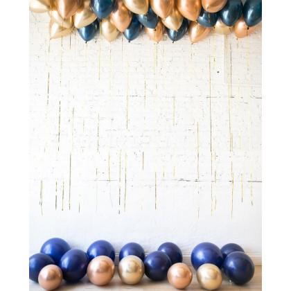 Blue Aurette - Ceiling and Floor Balloon Set