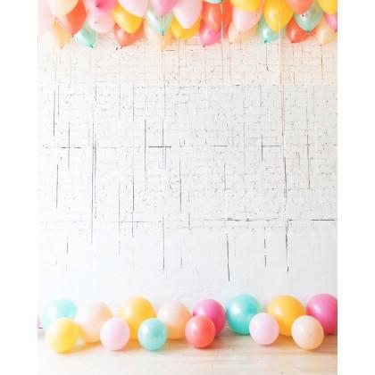 BubbleGum - Ceiling & Floor Balloon Set