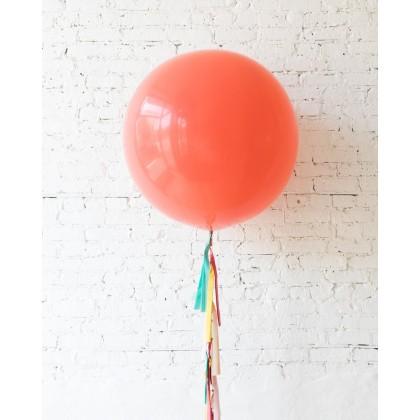 BubbleGum - Giant Balloon with Tassel