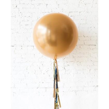Blue Aurette - Giant Balloon with Tassel