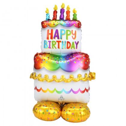 P70  Birthday Cake Large Airloonz