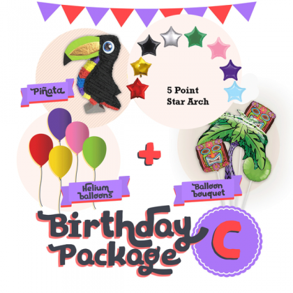Balloon Package C