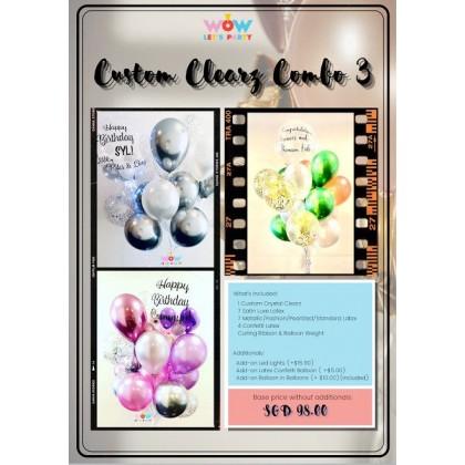 Custom Crystal Clearz Combo 3