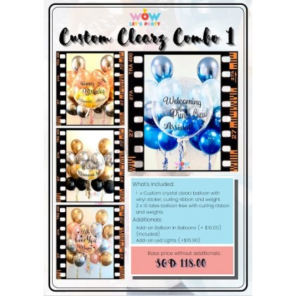 Custom Crystal Clearz Combo 1