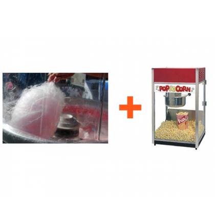 Pop Corn & Candy Floss Machine