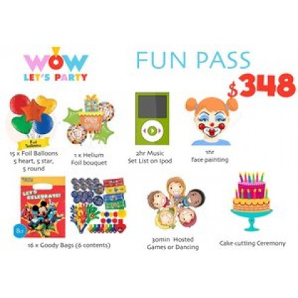 Fun Pass Package