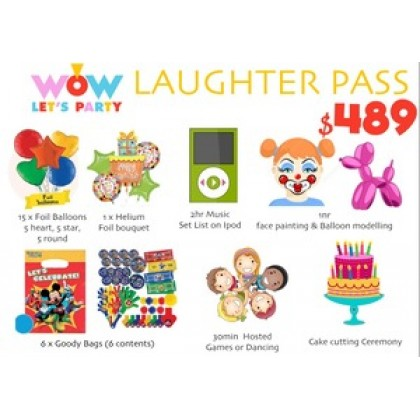 Laughter Pass Package