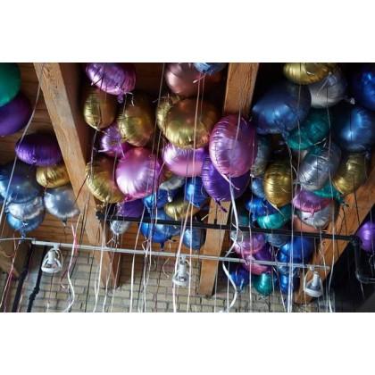 Foil Ceiling Balloons (100Pcs)