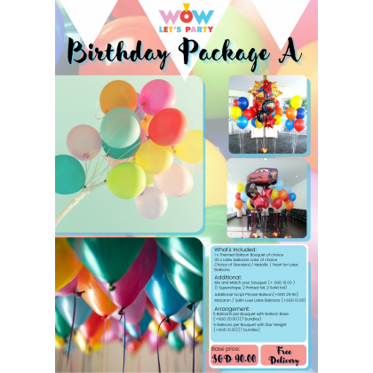 Birthday Package A