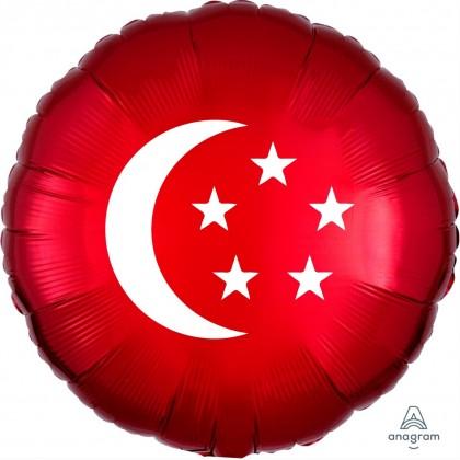 "17"" National Day Flag Balloon"