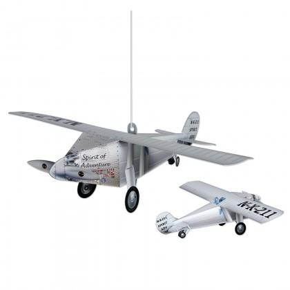3-D Airplane Centerpiece
