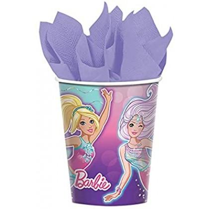 9oz BarBie Paper Cup