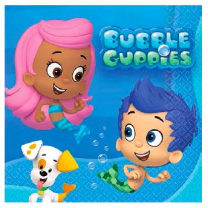 Bubble Guppies™ Beverage Napkins