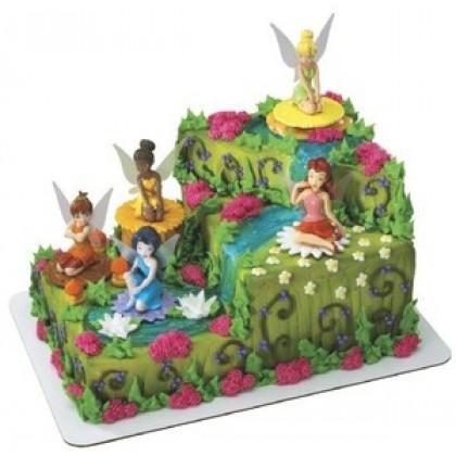 Disney Fairies Fairy Friends Decoset Signature