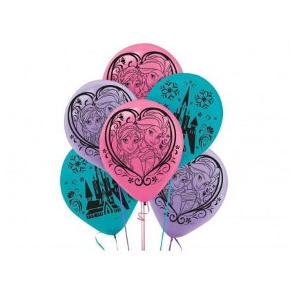 Disney Frozen Magic Printed Latex Balloons - Asst. Colors