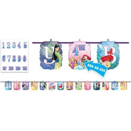Disney Princess Dream Big Ribbon Letter Banner
