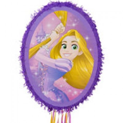 Disney Rapunzel Dream Big Mirror Licensed Outline Piñata
