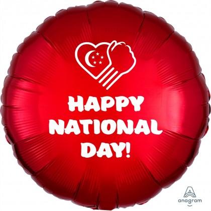 "17"" Happy National Day Balloon"