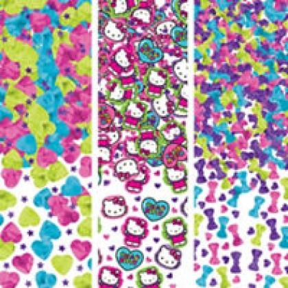 Hello Kitty® Rainbow Value Confetti - Paper & Foil