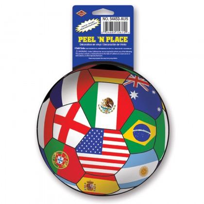Peel 'N Place - International 5¼in