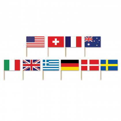 International Flag Picks