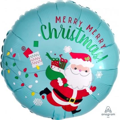"S40 17"" Christmas Running Santa Standard HX®"