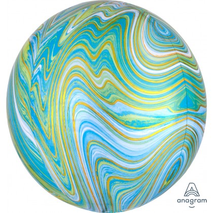 Blue Green Marblez™ Orbz® XL™ G20 99
