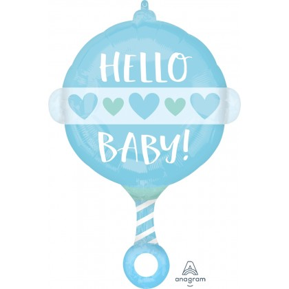 "S50 17"" Baby Boy Rattle Junior Shape XL®"