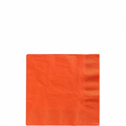 Beverage Napkins Orange Peel
